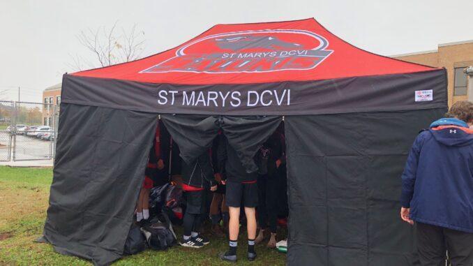 DCVI Branded tent shelter
