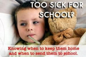 Too Sick for School? Featured Photo
