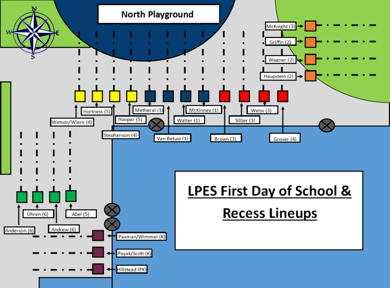 LPES First Day Meeting Areas