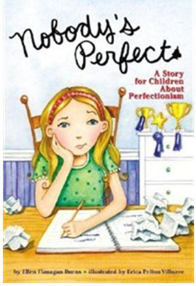 Nobody's Perfect:A Children's Story About Perfectionism Book Cover