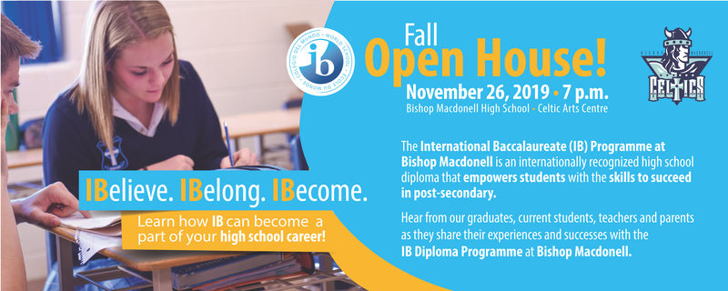 IB Fall Open House Featured Photo