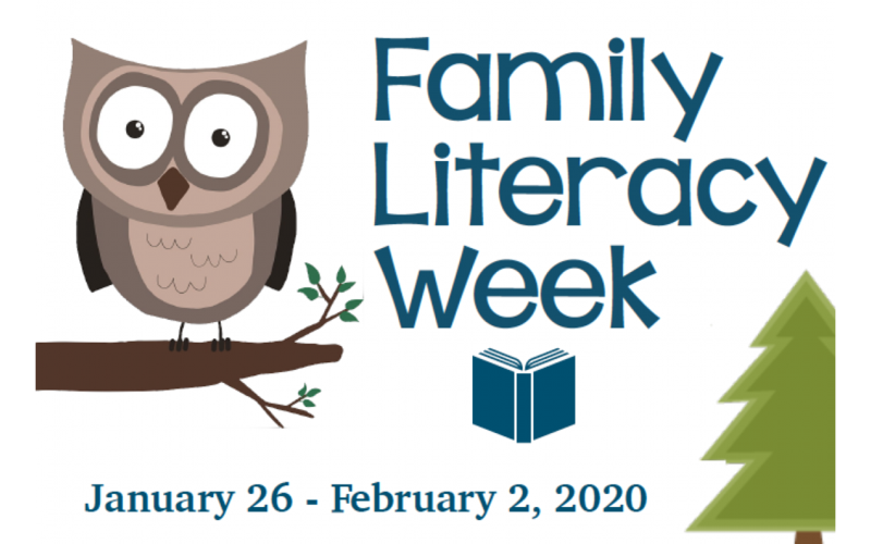 Family Literacy Week January 26 - February 1 Featured Photo