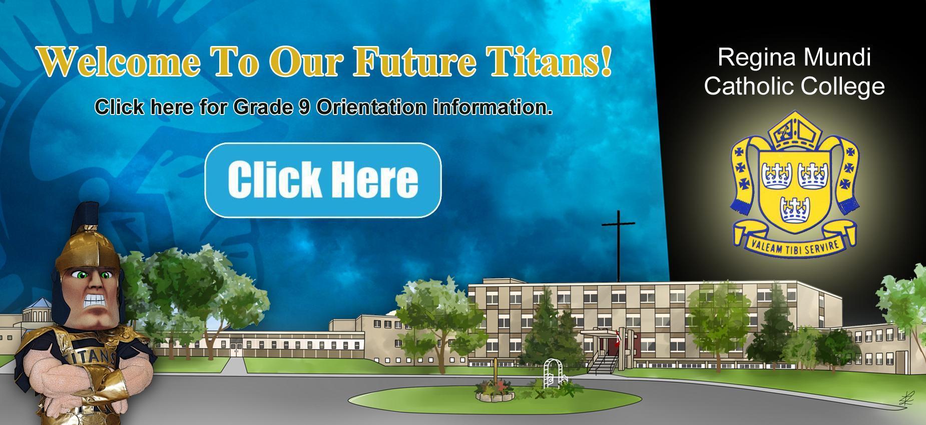 Grade 9 Orientation Info