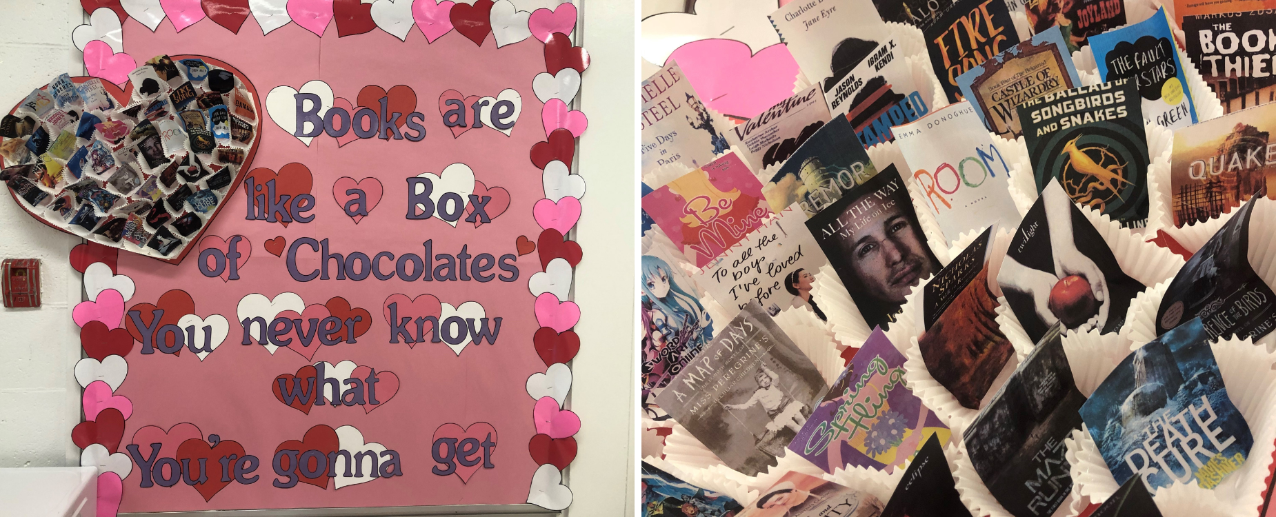 books are like a box of chocolates