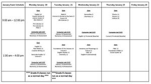 January 2020 Semester 1 Exam Schedule.JPG
