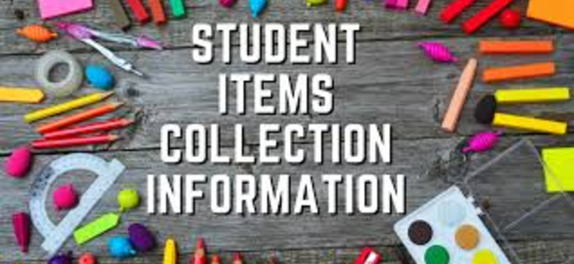 Student Items Collection