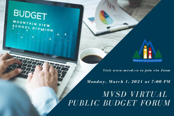 MVSD Public Budget Forum Notice