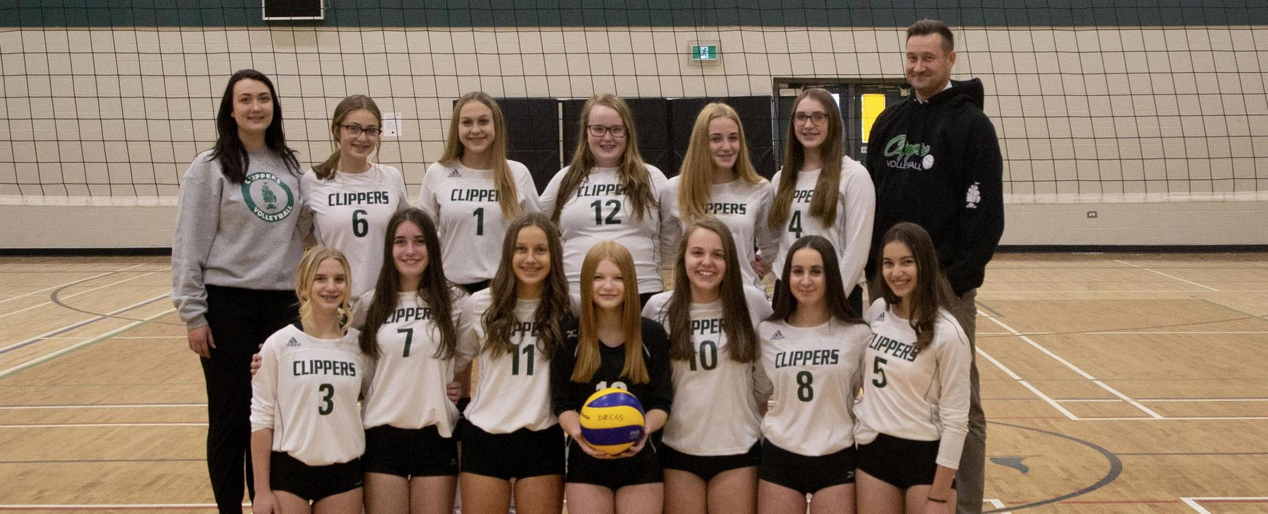 junior varsity girls bolleyball team picture