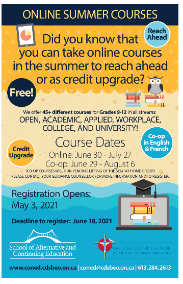 Registration for Summer School Featured Photo