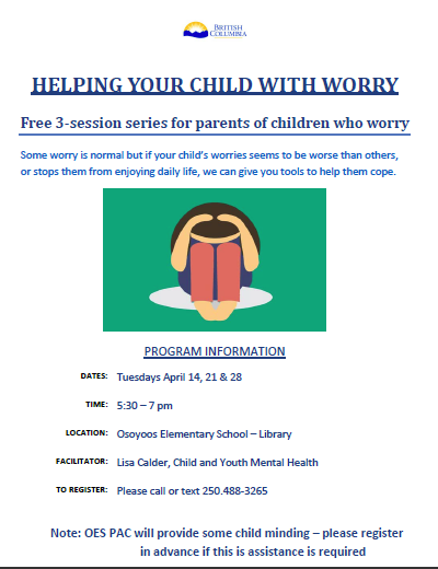 Helping Your Child With Worry Featured Photo