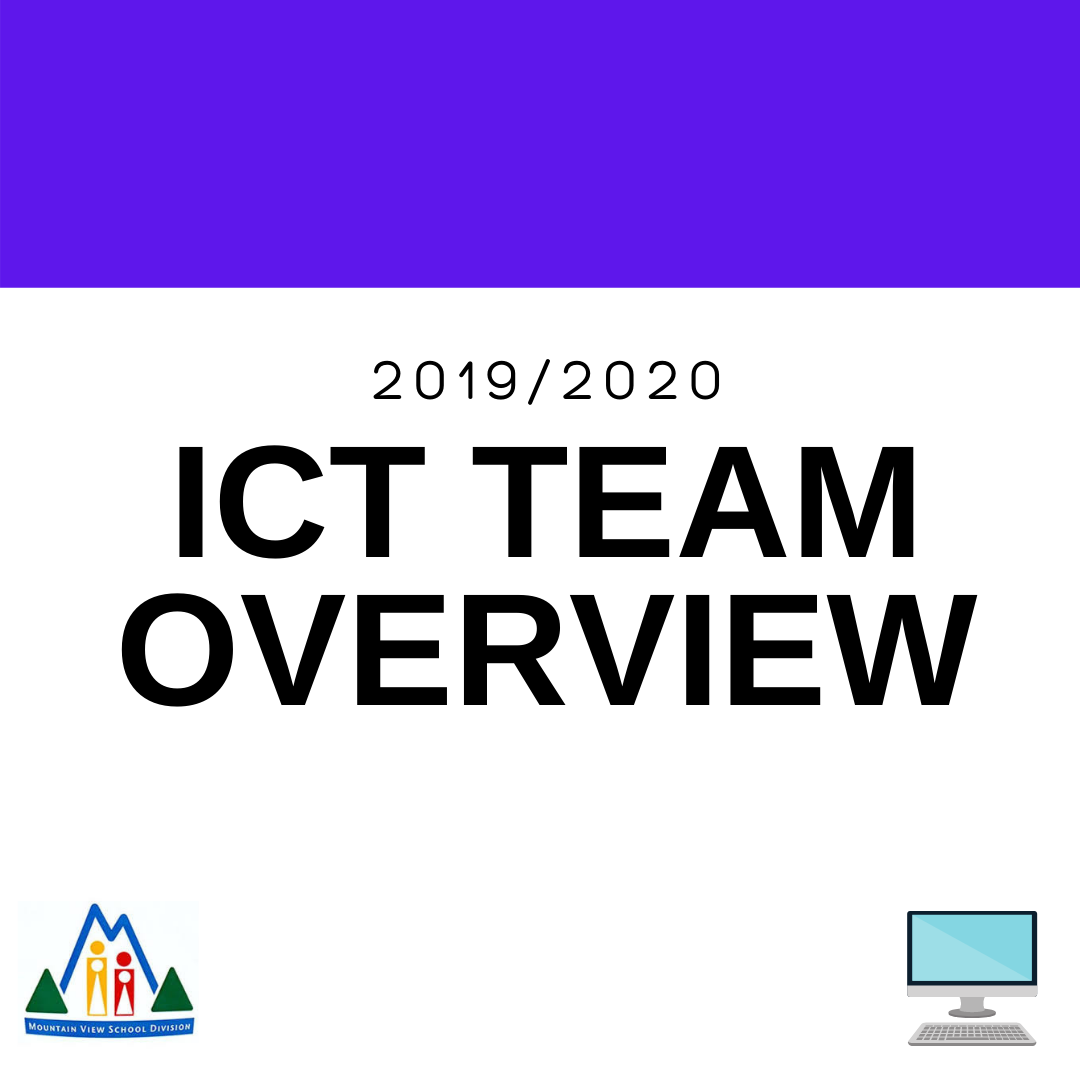 2019/2020 ICT Team Overview