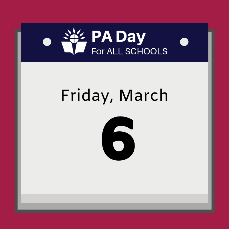 calendar that says Friday, March 6