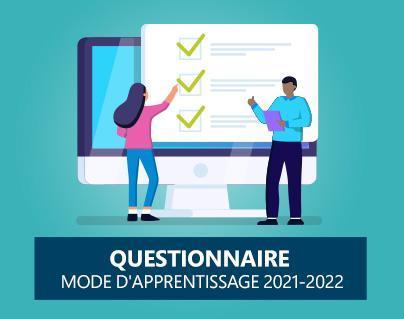 Modes d'enseignement offerts en 2021-2022 Featured Photo