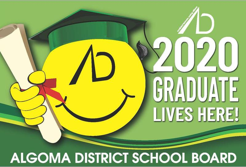 ADSB Grad Sign
