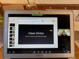 CHSS Clean Clinton slideshow