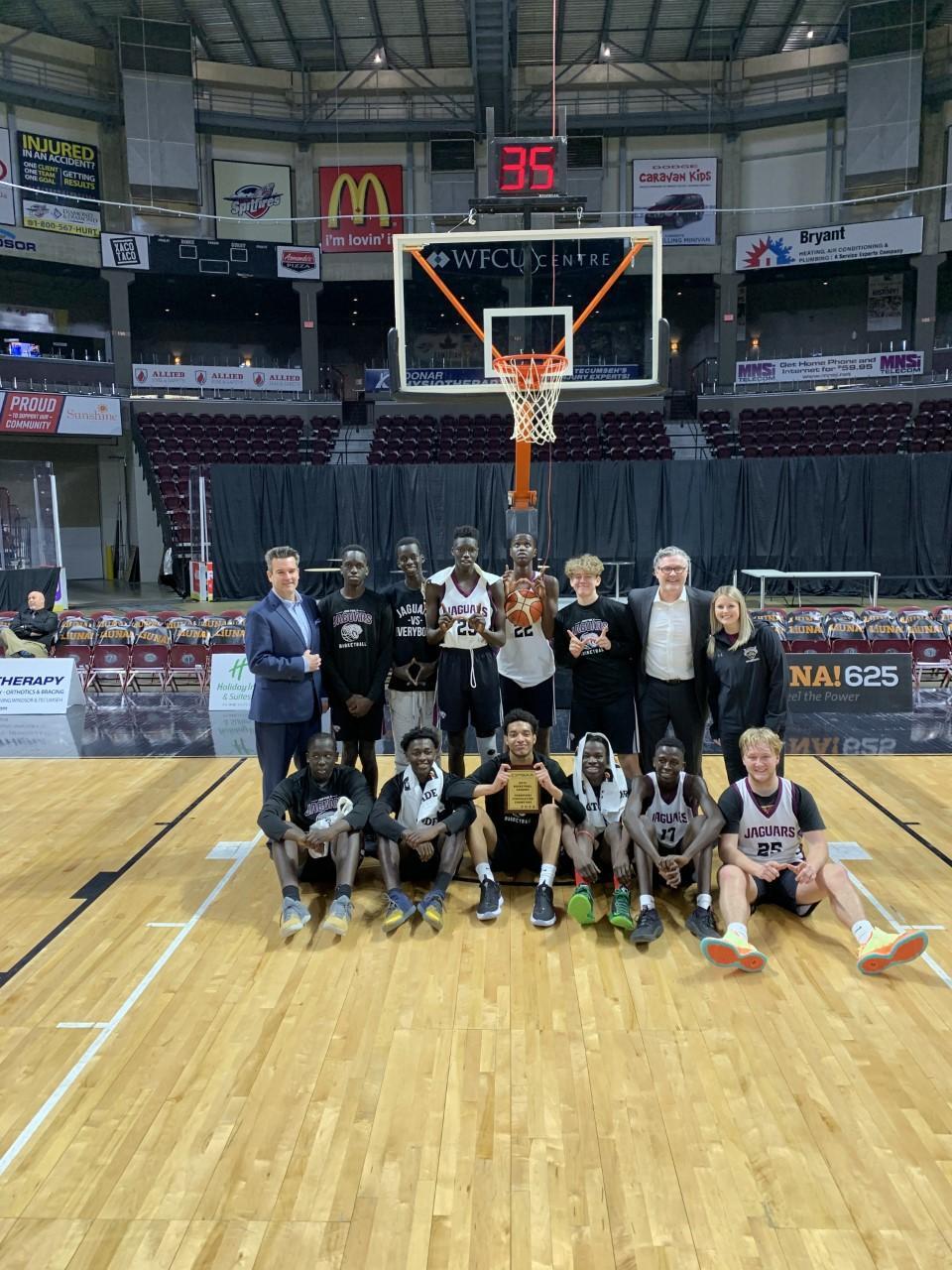 OFSAA AA Senior Boys Basketball - Consolation Champions