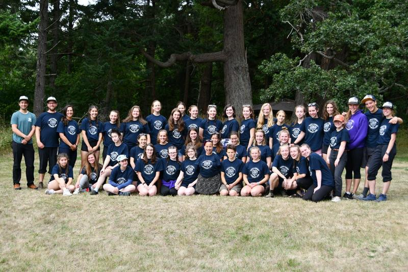 Multi District Outdoor Camp on Hornby Island Inspires Youth  to Lead Environmental Change Featured Photo