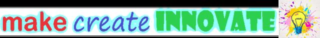 Make, Create, Innovate banner