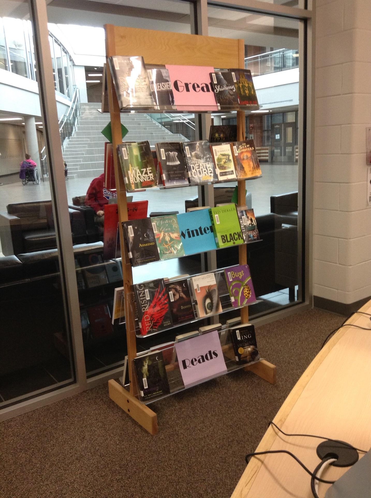 Display of books
