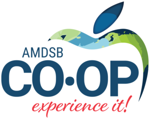 graphic with wording AMDSB CO-OP