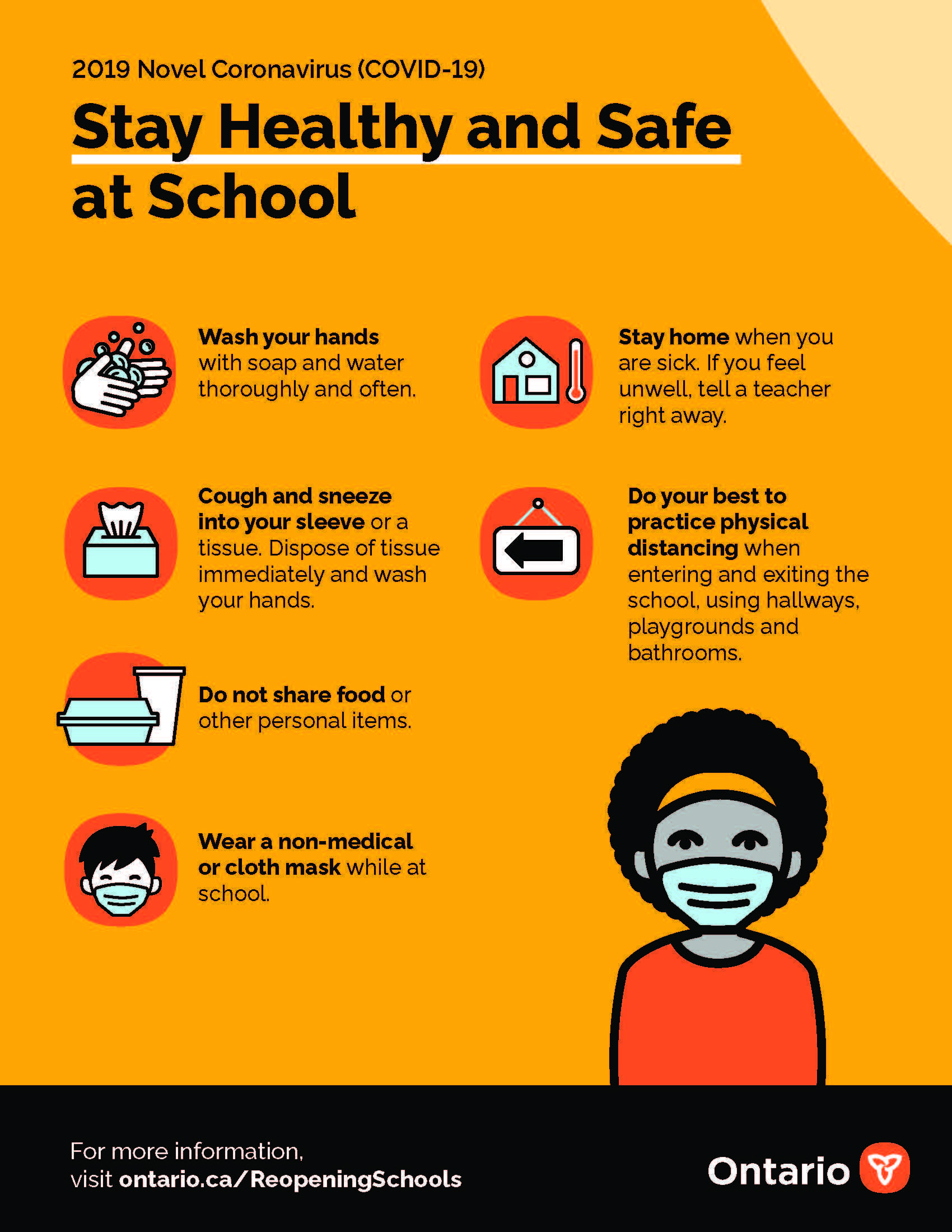 Stay Healthy at School