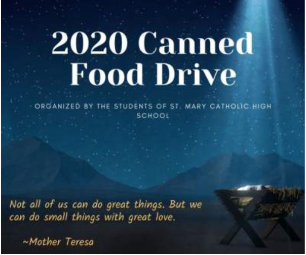 St. Mary Canned Food Drive Featured Photo