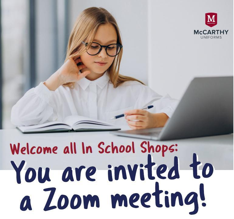 McCarthy Uniforms Zoom Meeting Featured Photo