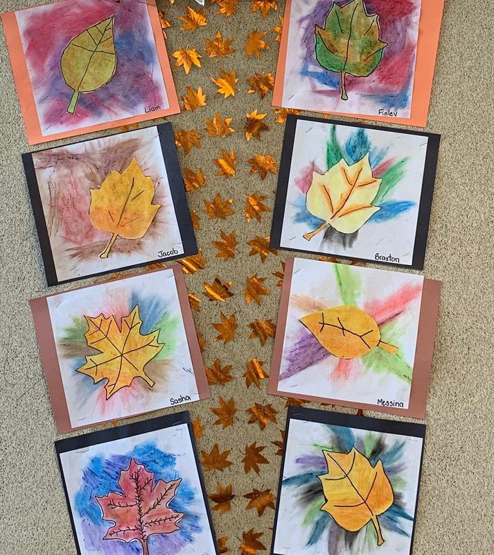 Budding Artists at St. Mary! Featured Photo