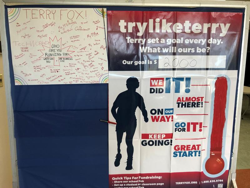 SMS raises over $2000 for Terry Fox 2021! Featured Photo