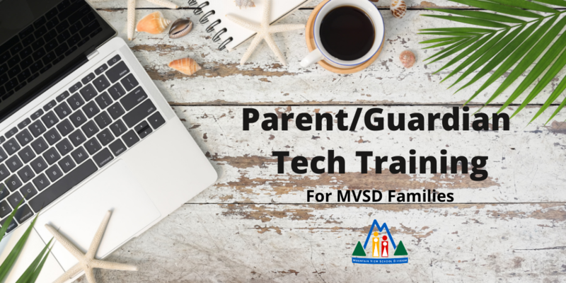 Parent/Guardian Tech Training - computer on desk