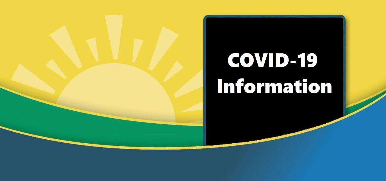 Banner with link to COVID-19 Page