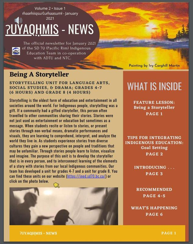 January 2021 Newsletter Featured Photo