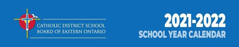 School Year Calendar 2021-2022 Featured Photo