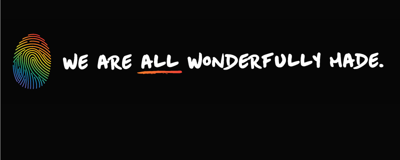 We are all wonderfully made web banner