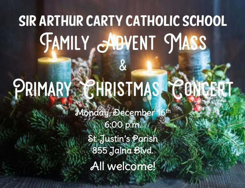 Primary Christmas Concert Poster