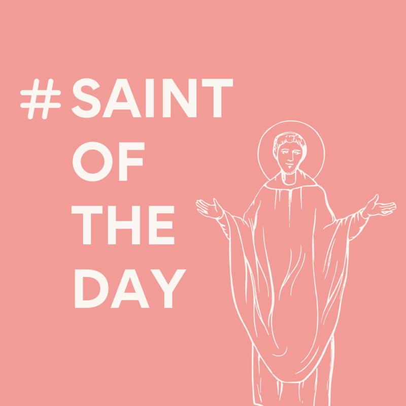 #SaintofTheDay
