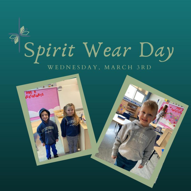 Spirit Wear Day Featured Photo