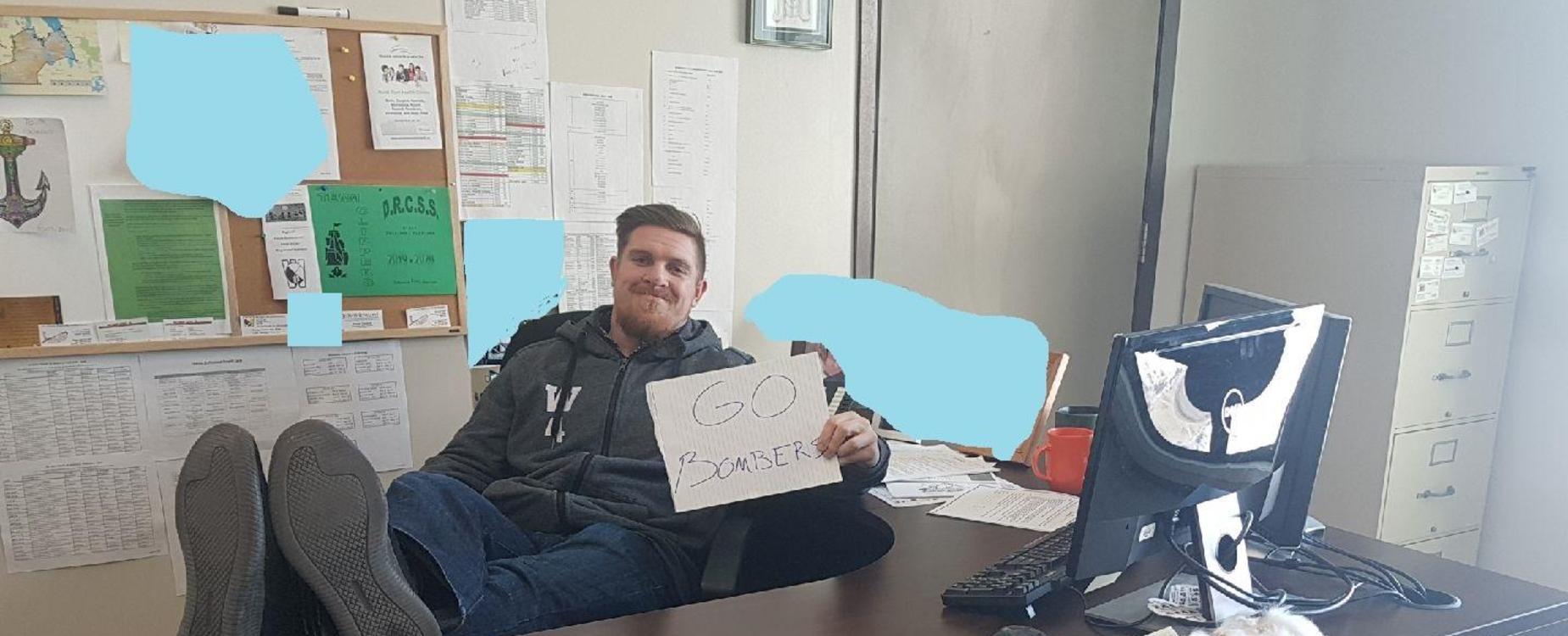 Adam Bighill of the Winnipeg Blue Bombers