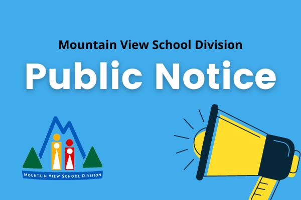 MVSD Public Notice