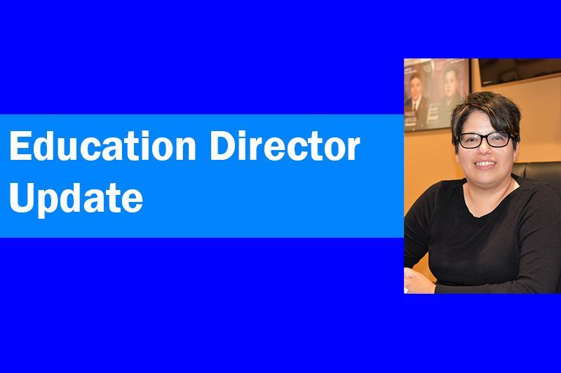 Education Director Update Featured Photo