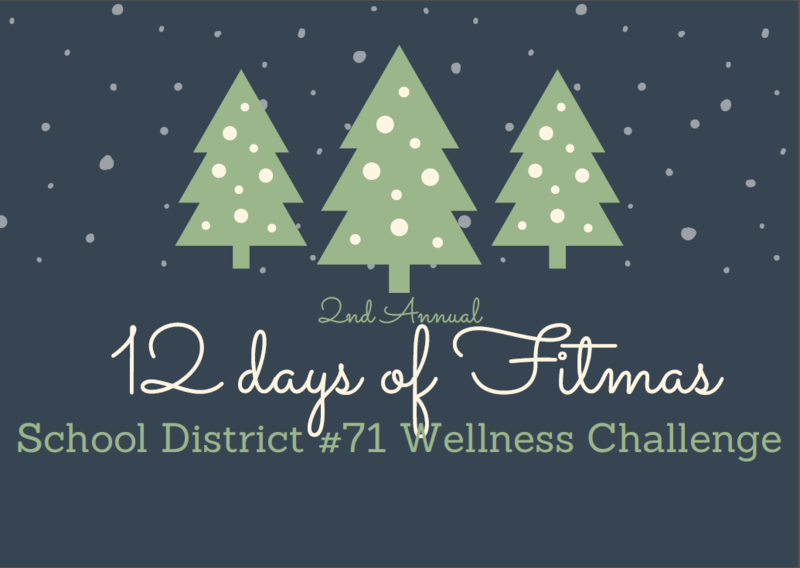 2nd Annual Work to Wellness Challenge: 12 Days of Fitmas. Featured Photo
