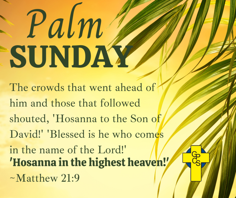 Palm Sunday - March 29 Featured Photo