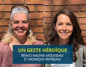 COUP DE CŒUR : Geste héroïque à l'école catholique Pavillon des Jeunes Featured Photo