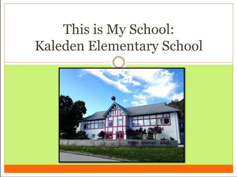 This is Kaleden School Featured Photo