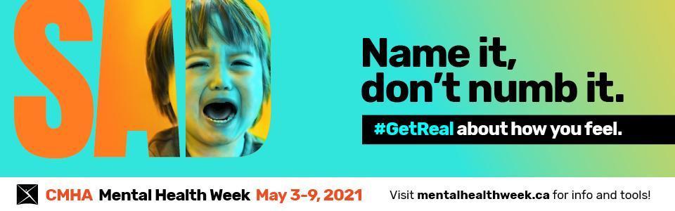 Mental Health Week banner