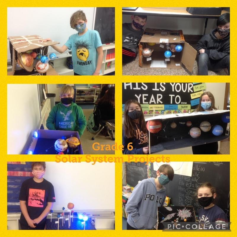 Grade 6 Solar System Project Featured Photo