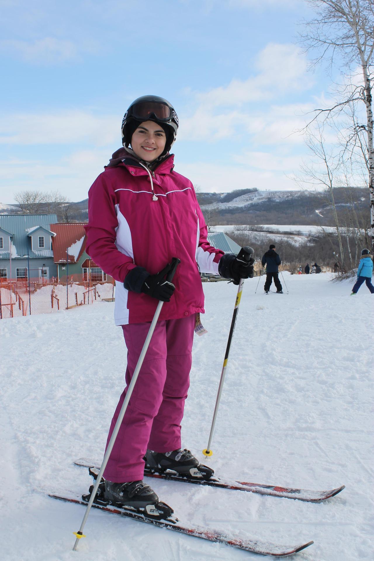 Skiing at Asessippi Ski Resort