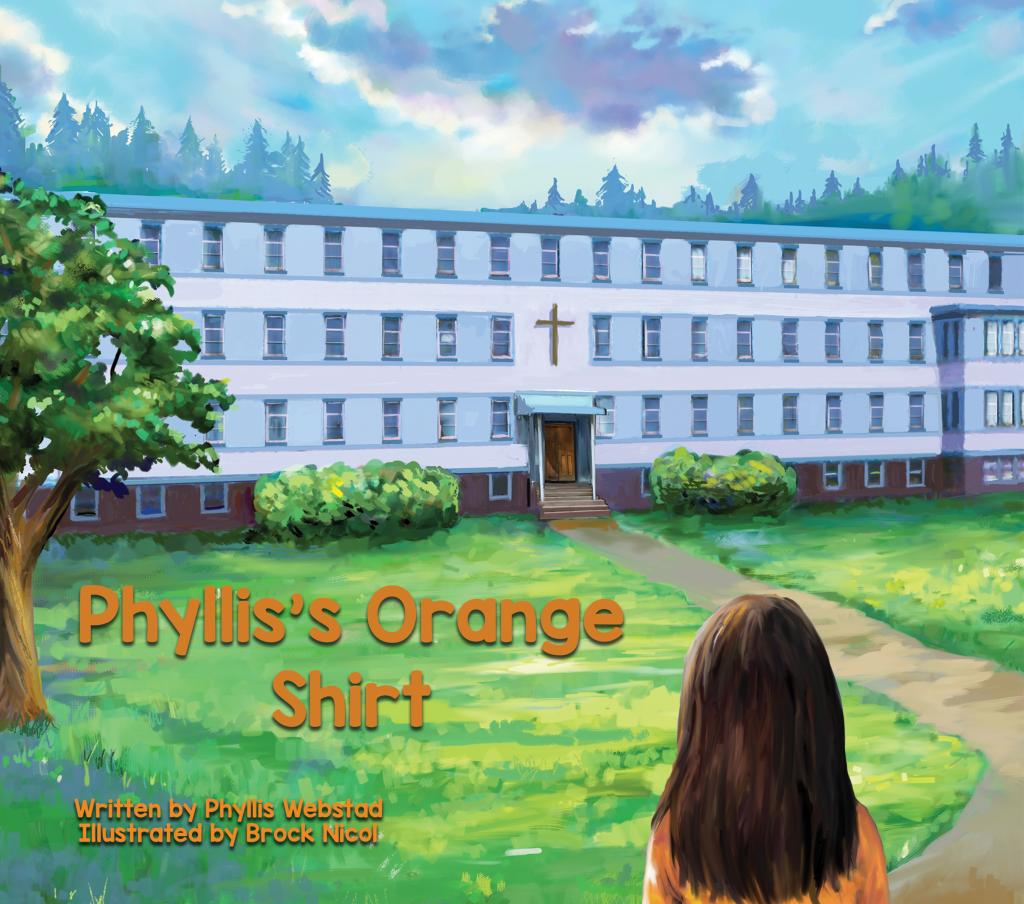 Phyllis' Orange Shirt
