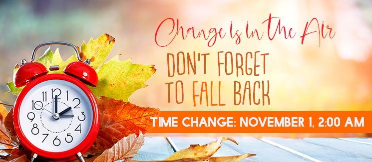 fall back - PST