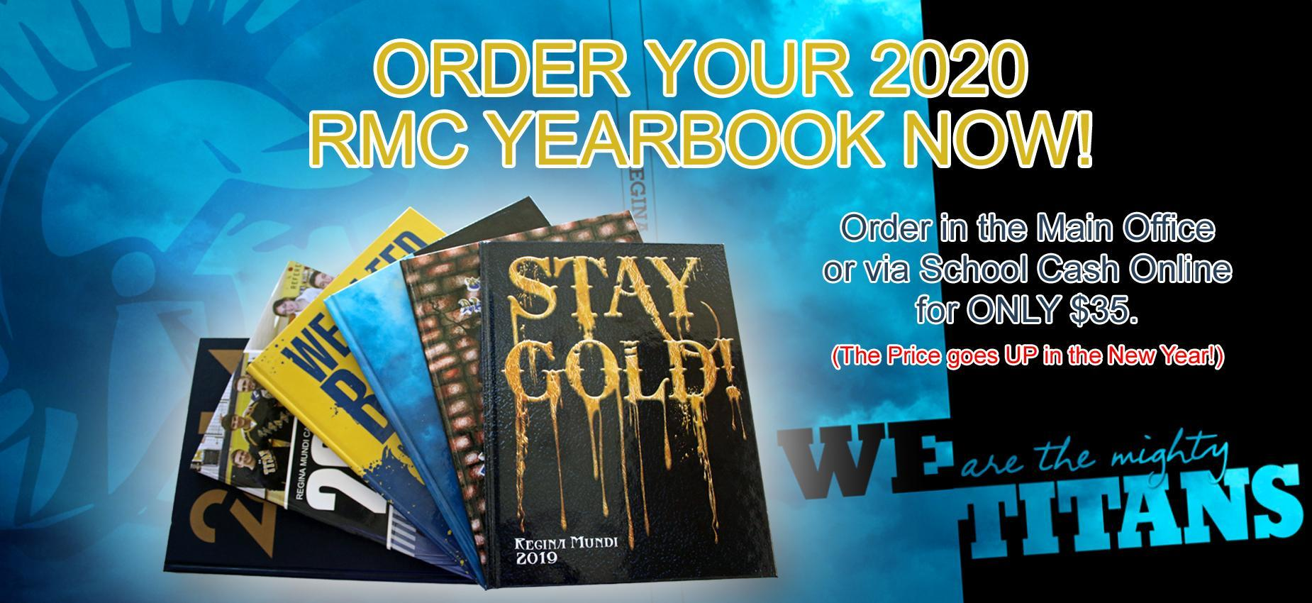 2020 RMC Yearbook